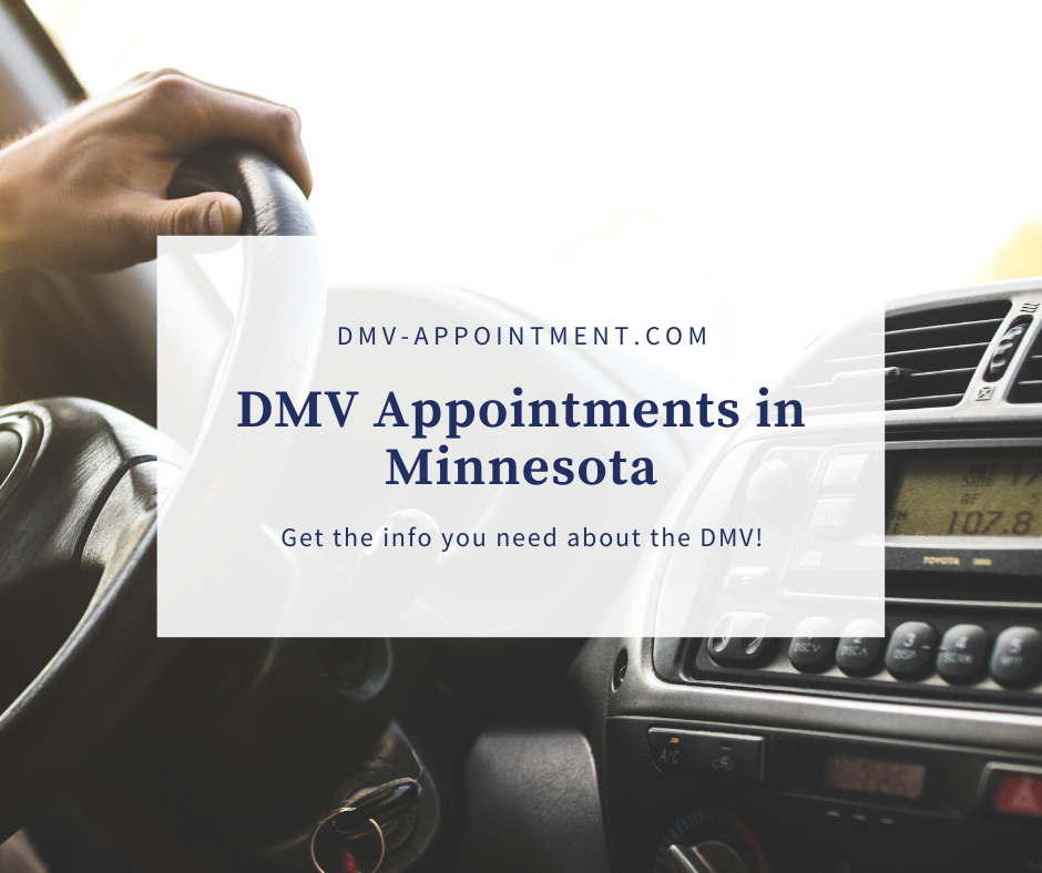 Get a Minnesota DMV Appointment